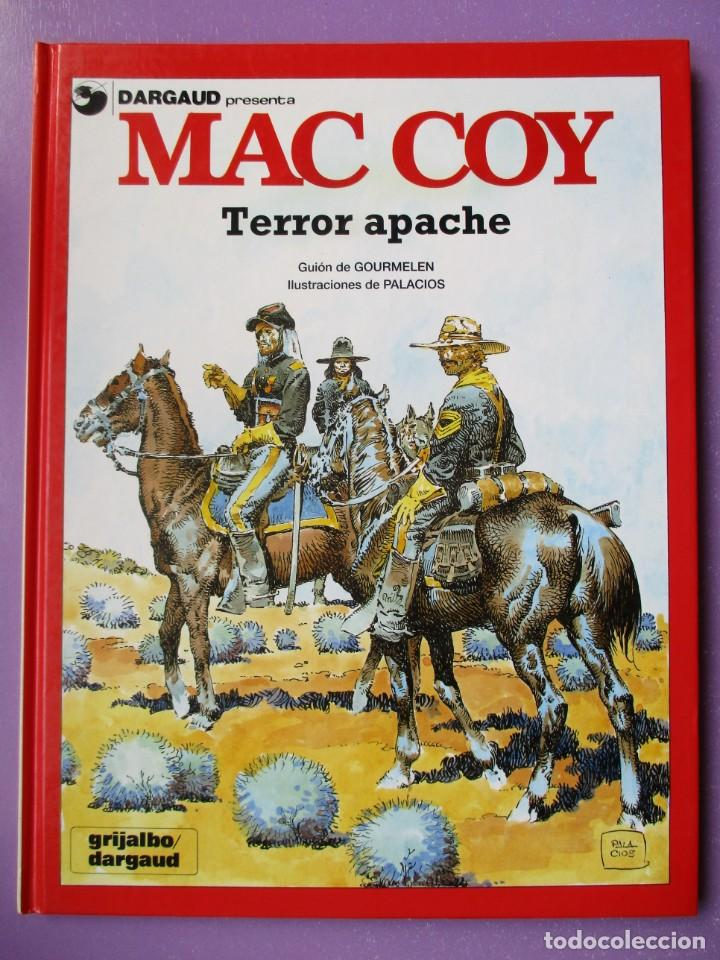 MAC COY Nº 17, TERROR APACHE ¡¡¡¡¡EXCELENTE ESTADO !!!!! GRIJALBO DARGAUD (Tebeos y Comics - Grijalbo - Mac Coy)