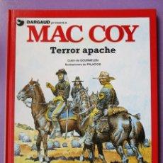 Cómics: MAC COY Nº 17, TERROR APACHE ¡¡¡¡¡EXCELENTE ESTADO !!!!! GRIJALBO DARGAUD. Lote 194345722