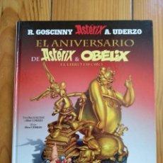 Cómics: EL ANIVERSARIO DE ASTÉRIX Y OBÉLIX: EL LIBRO DE ORO. Lote 194558340