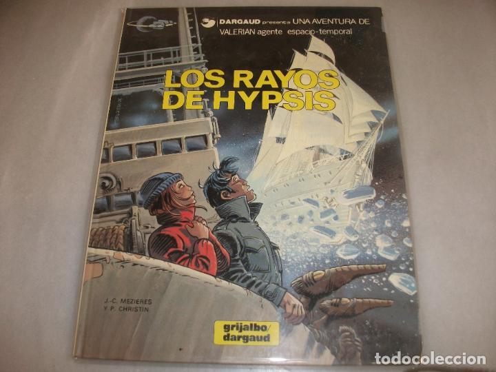 VALERIAN 12LOS RAYOS DE HYPSIS BUEN ESTADO (Tebeos y Comics - Grijalbo - Valerian)