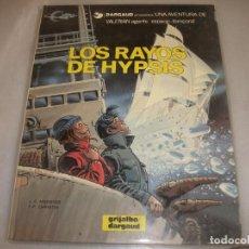 Cómics: VALERIAN 12LOS RAYOS DE HYPSIS BUEN ESTADO. Lote 194575556