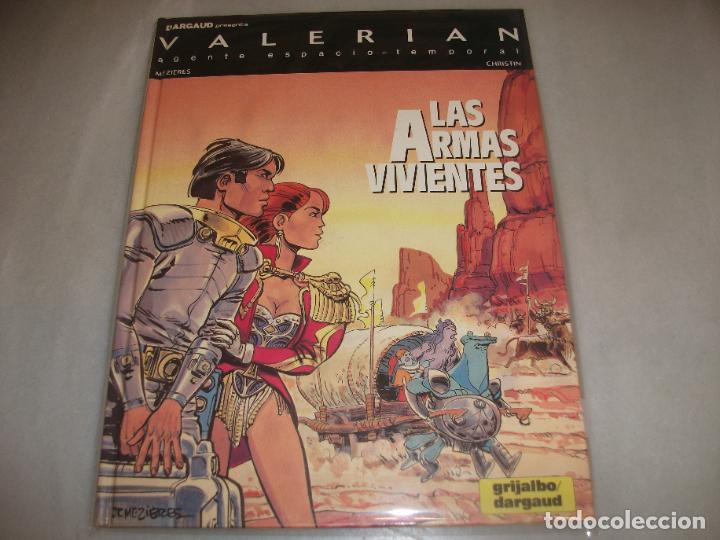 VALERIAN 14LAS ARMAS VIVIENTES BUEN ESTADO (Tebeos y Comics - Grijalbo - Valerian)