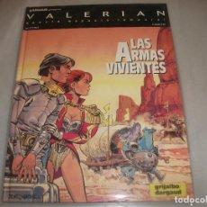 Cómics: VALERIAN 14LAS ARMAS VIVIENTES BUEN ESTADO. Lote 194576117
