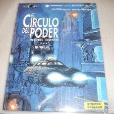 Cómics: VALERIAN 15EL CIRCULO DE PODER COMO NUEVO. Lote 194576353