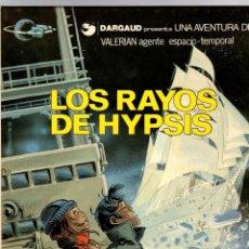 Cómics: LOS RAYOS DE HYPSIS. UNA AVENTURA DE VALERIAN AGENTE ESPACIO-TEMPORAL. Nº 12. GRIJALBO 1986. Lote 194576471