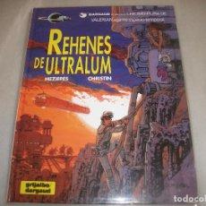 Cómics: VALERIAN 16REHENES DE ULTRALUM COMO NUEVO. Lote 194576477