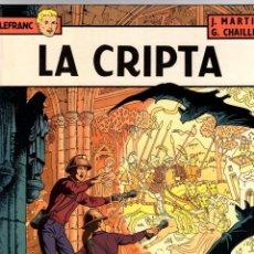 Cómics: LEFRANC. Nº 9. LA CRIPTA. J. MARTIN - G. CHAILLET. GRIJALBO, 1988. Lote 194596670