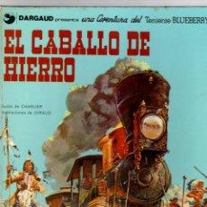 Cómics: BLUEBERRY. EL CABALLO DE HIERRO. GRIJALBO, 1977. Lote 194660477