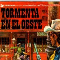 Comics : BLUEBERRY. TORMENTA EN EL OESTE. Nº 17. GRIJALBO, 1982. Lote 194664702