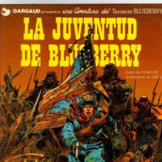Cómics: BLUEBERRY. Nº 12. LA JUVENTUD DE BLUEBERRY. CHARLIER - GIRAUD. GRIJALBO, 1980. Lote 194666760