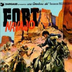 Comics: BLUEBERRY. Nº 16. FORT NAVAJO. CHARLIER - GIRAUD. GRIJALBO, 1982. Lote 194667632