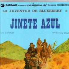 Cómics: LA JUVENTUD DE BLUEBERRY 3. Nº 14. JINETE AZUL. CHARLIER - GIRAUD. GRIJALBO, 1981. Lote 194671268