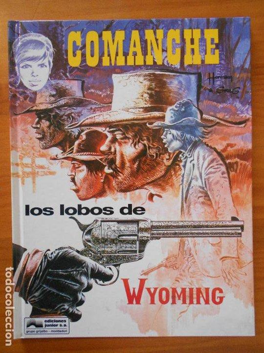 COMANCHE - Nº 3 - LOS LOBOS DE WYOMING - TAPA DURA - GRIJALBO (IP) (Tebeos y Comics - Grijalbo - Comanche)