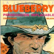 Comics: LA JUVENTUD DE BLUEBERRY. Nº 30. PERSECUCION IMPLACABLE. CORTEGGIANI - WILSON. GRIJALBO, 1991. Lote 194685366