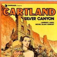 Cómics: JONATHAN CARTLAND. Nº 6. SILVER CANYON. M. BLANC-DUMONT. GRIJALBO, 1988. Lote 194691941