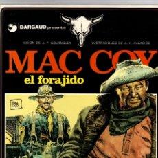 Cómics: MAC COY. Nº 12. EL FORAJIDO. A.H. PALACIOS. GRIJALBO, 1985. Lote 194692215