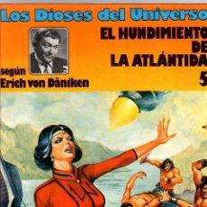 Cómics: LOS DIOSES DEL UNIVERSO. 5. EL HUNDIMIENTO DE LA ATLANTIDA. GRIJALBO, 1981. Lote 194692626