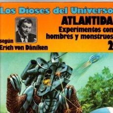 Cómics: LOS DIOSES DEL UNIVERSO. 2. ATLANTIDA. EXPERIMENTOS CON HOMBRES Y MONSTRUOS. GRIJALBO, 1979. Lote 194693218