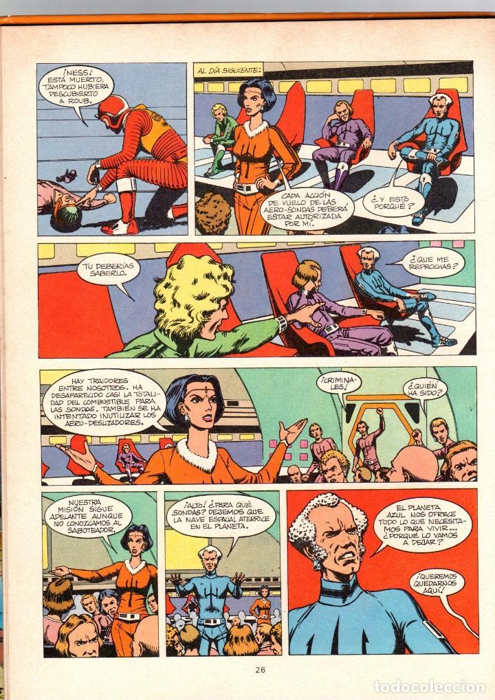 Cómics: LOS DIOSES DEL UNIVERSO. 1. ATERRIZAJE EN LOS ANDES. GRIJALBO, 1979 - Foto 2 - 194693555