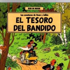 Cómics: LAS AVENTURAS DE OSCAR Y JULIAN. Nº 2 EL TESORO DEL BANDIDO. BOB DE MOOR. GRIJALBO, 1988. 1ª EDICION. Lote 194693910
