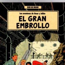 Cómics: LAS AVENTURAS DE OSCAR Y JULIAN. Nº 1 EL GRAN EMBROLLO. BOB DE MOOR. GRIJALBO, 1988. 1ª EDICION. Lote 194694226