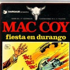 Comics: MAC COY. Nº 10. FIESTA EN DURANGO. A.H. PALACIOS. GRIJALBO, 1983. Lote 194695451