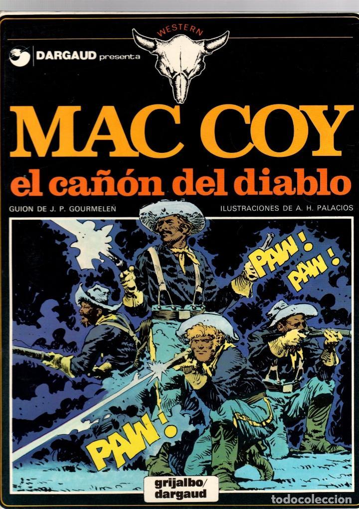 MAC COY. Nº 9. EL CAÑON DEL DIABLO. A.H. PALACIOS. GRIJALBO, 1982 (Tebeos y Comics - Grijalbo - Mac Coy)