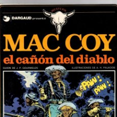 Cómics: MAC COY. Nº 9. EL CAÑON DEL DIABLO. A.H. PALACIOS. GRIJALBO, 1982. Lote 194695558
