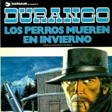 Cómics: DURANGO DE YVES SWOLFS (GRIJALBO, 1989-1990) COMPLETA. 4 TOMOS: 1-5-6-7. Lote 194780327
