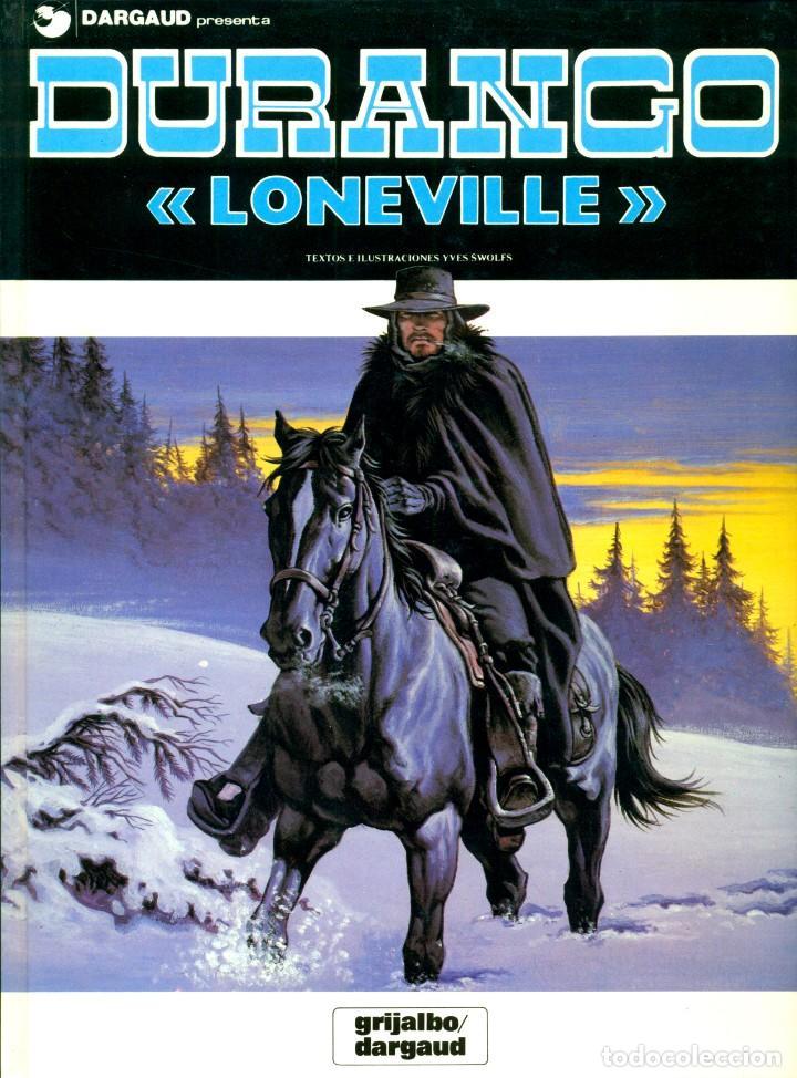 Cómics: DURANGO DE YVES SWOLFS (GRIJALBO, 1989-1990) COMPLETA. 4 TOMOS: 1-5-6-7 - Foto 4 - 194780327