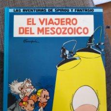 Cómics: LAS AVENTURAS DE SPIROU Y FANTASIO EL VIAJERO DEL MESOZOICO. Lote 194920960