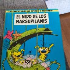 Cómics: LAS AVENTURAS DE SPIROU Y FANTASIO. EL NIDO DE LOS MARSUPILAMIS. GRIJALBO.. Lote 194921408
