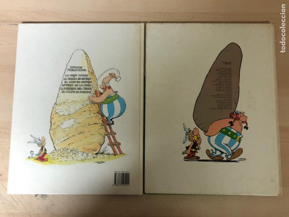 Cómics: 2x ASTERIX TAPA DURA. En la India 1987 ediciones júnior. La cizaña 1970 grijalbo - Foto 2 - 194926086