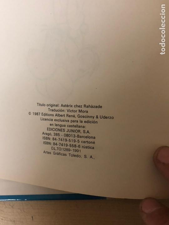 Cómics: 2x ASTERIX TAPA DURA. En la India 1987 ediciones júnior. La cizaña 1970 grijalbo - Foto 4 - 194926086