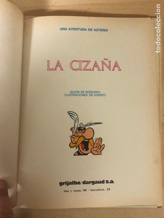 Cómics: 2x ASTERIX TAPA DURA. En la India 1987 ediciones júnior. La cizaña 1970 grijalbo - Foto 5 - 194926086