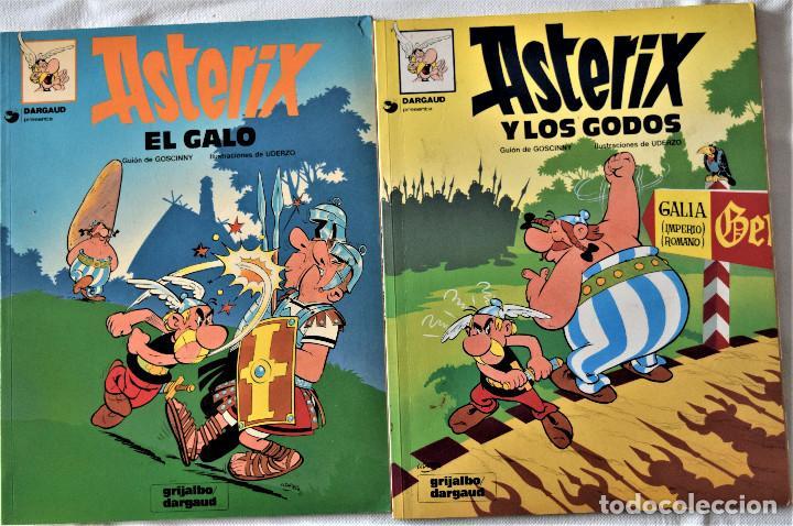 ASTERIX Nº 1 Y 2 - EL GALO - LOS GODOS - POR GOSCINNY Y UDERNO - GRIJALBO/ DARGAUD - TAPA BLANDA (Tebeos y Comics - Grijalbo - Asterix)
