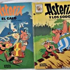 Cómics: ASTERIX Nº 1 Y 2 - EL GALO - LOS GODOS - POR GOSCINNY Y UDERNO - GRIJALBO/ DARGAUD - TAPA BLANDA. Lote 194960857