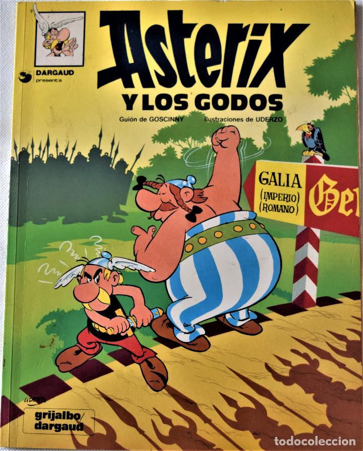 Cómics: ASTERIX Nº 1 Y 2 - EL GALO - LOS GODOS - POR GOSCINNY Y UDERNO - GRIJALBO/ DARGAUD - TAPA BLANDA - Foto 2 - 194960857