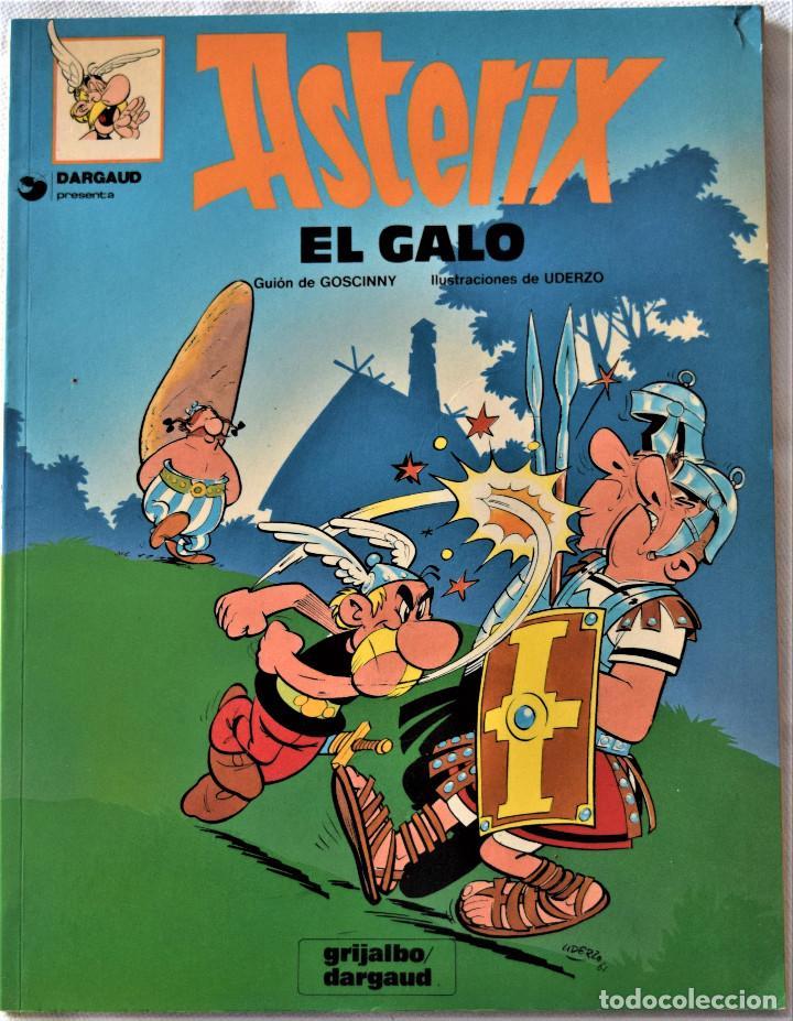 Cómics: ASTERIX Nº 1 Y 2 - EL GALO - LOS GODOS - POR GOSCINNY Y UDERNO - GRIJALBO/ DARGAUD - TAPA BLANDA - Foto 3 - 194960857