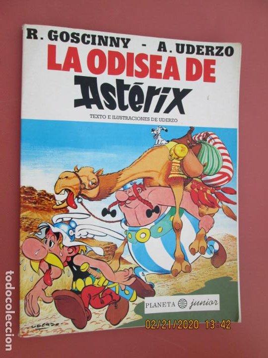 LA ODISEA DE OSTERIX , TEXTO E ILUSTRACIONES DE UDERZO -1999 (Tebeos y Comics - Grijalbo - Asterix)