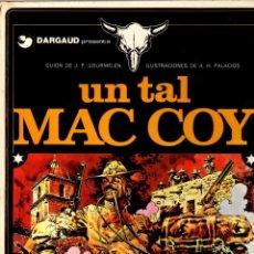 Cómics: MAC COY. Nº 2. UN TAL MAC COY. GRIJALBO, 1978. Lote 195096286