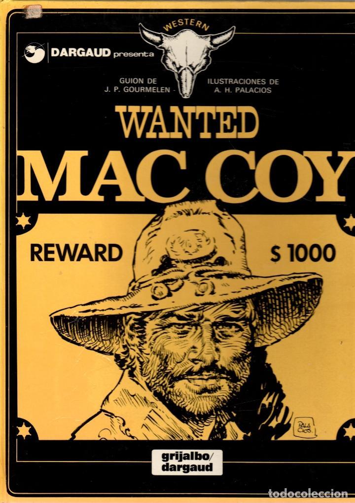 MAC COY. Nº 5. WANTED MAC COY. GRIJALBO, 1980 (Tebeos y Comics - Grijalbo - Mac Coy)