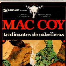 Cómics: MAC COY. Nº 7. TRAFICANTES DE CABELLERAS. GRIJALBO, 1980. Lote 195097001