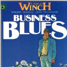 Comics : LARGO WINCH. Nº 4. BUSINESS BLUES. PHILIPPE FRANCQ - JEAN VAN HAMME. GRIJALBO, 1994. Lote 195172382