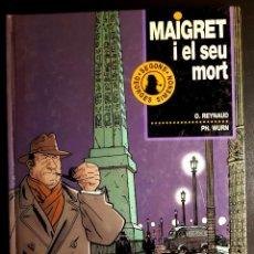 Cómics: MAIGRET I EL SEU MORT (JUNIOR, 1993) DE REYNAUD Y WURM, SEGÚN SIMENON. Lote 195172827
