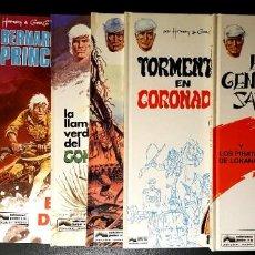 Cómics: BERNARD PRINCE (JUNIOR, 1992-1993) COMPLETA 6 TOMOS. DE HERMANN Y GREG. Lote 195176546