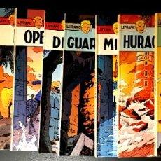 Comics : LEFRANC (JUNIOR, 1986-1989) DE JACQUES MARTIN Y CHAILLET. COMPLETA: 10 TOMOS.. Lote 195177068