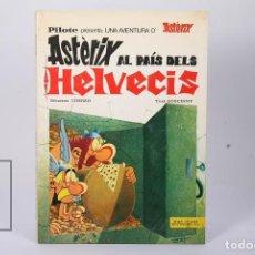 Cómics: CÓMIC TAPA DURA EN CATALÁN - ASTERIX AL PAÍS DELS HELVECIS - EDIT MAS-IVARS - AÑO 1977. Lote 195202752