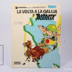 Cómics: CÓMIC TAPA DURA EN CATALÁN - LA VOLTA A LA GAL·LIA D'ASTERIX - EDIT GRIJALBO-DARGAUD - AÑO 1984. Lote 195202758