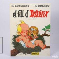 Cómics: CÓMIC TAPA DURA EN CATALÁN - EL FILL D'ASTÈRIX - EDIT GRIJALBO-JUNIOR - AÑO 1983. Lote 195202787
